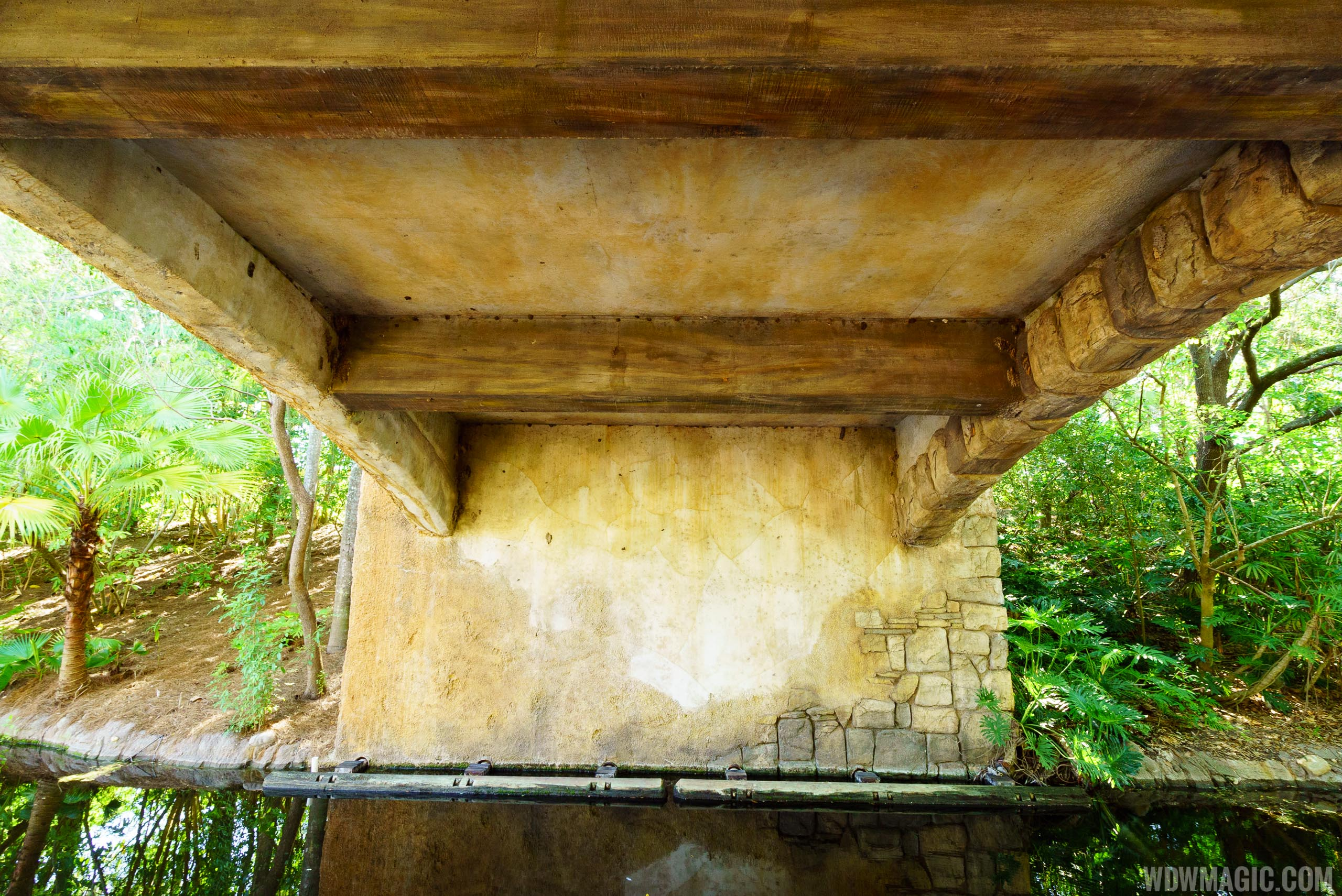 Walkway from Pandora to Harambe