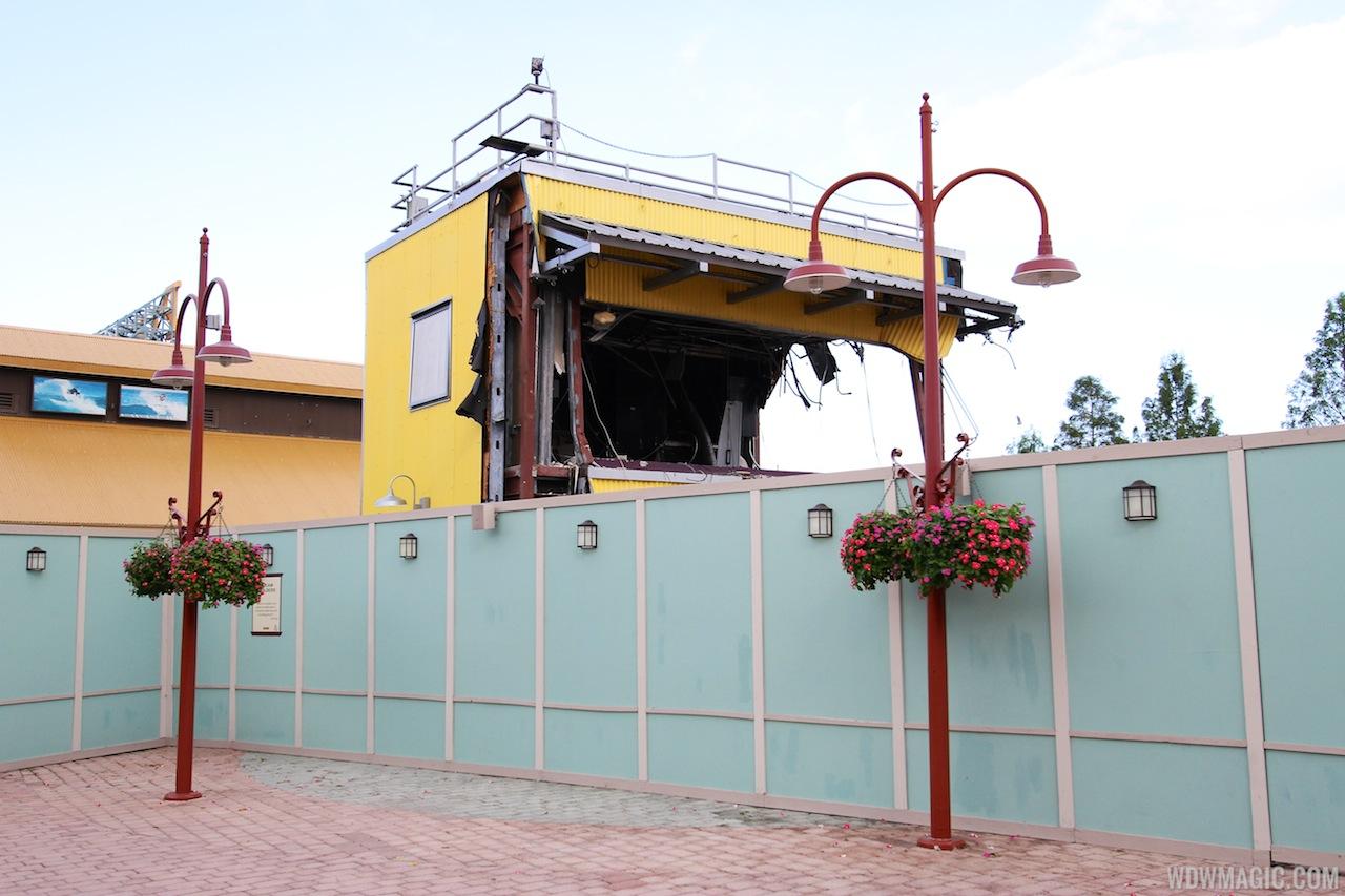 Pleasure Island demolition