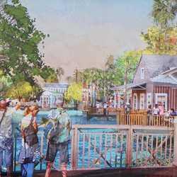 New Disney Springs concept art