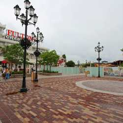 Lilly Pad area after Disney Springs refurbishment