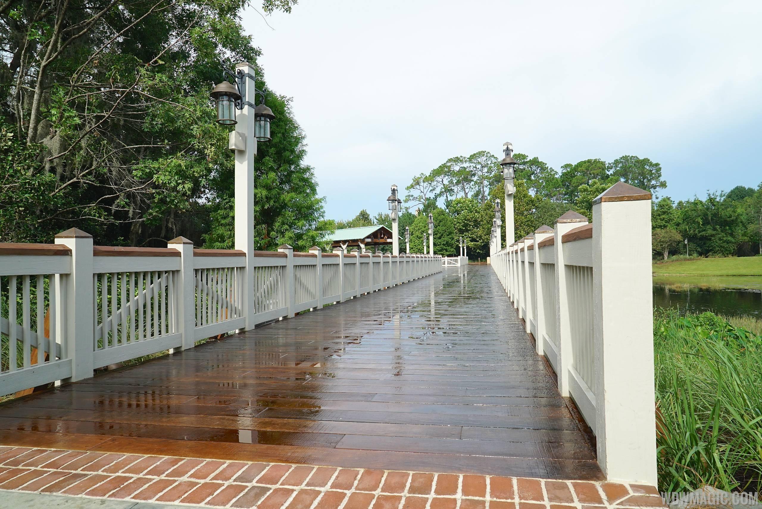 The new Marketplace bridge and dock