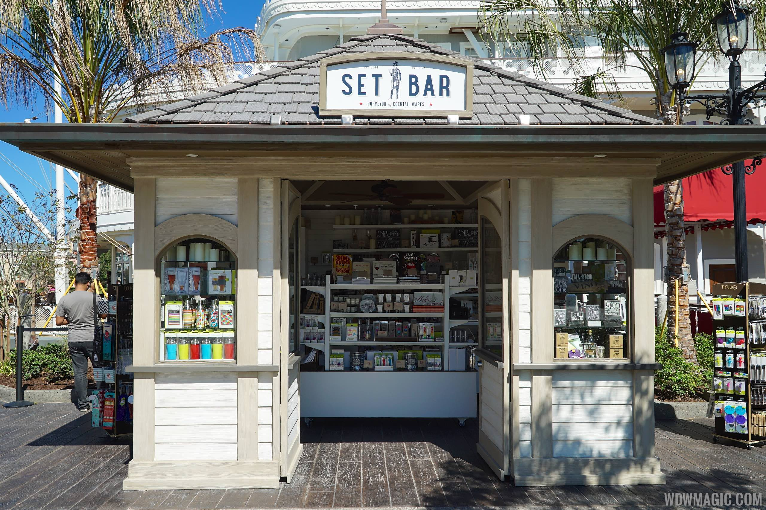 Set the Bar kiosk
