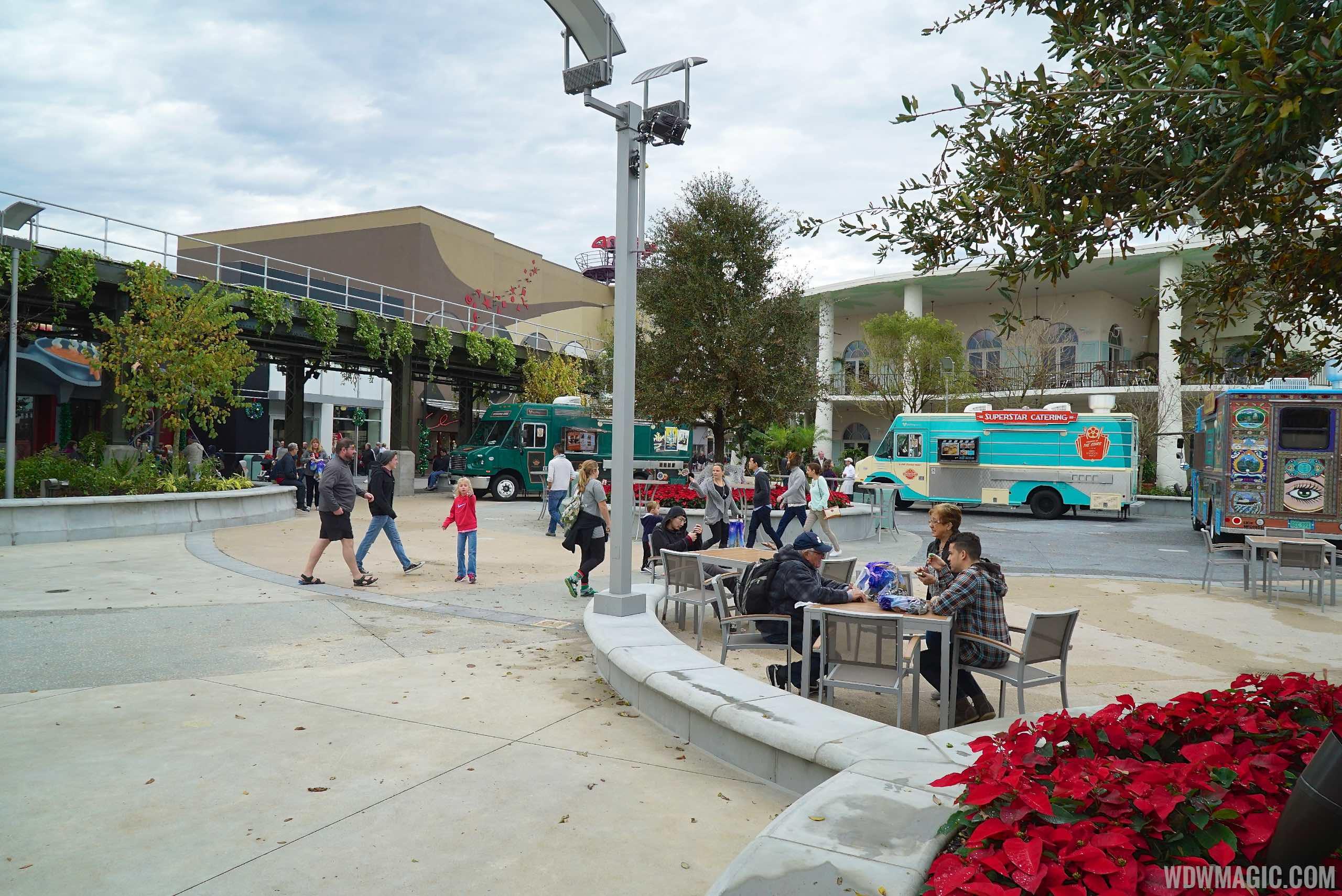 Food Truck park at Disney Springs