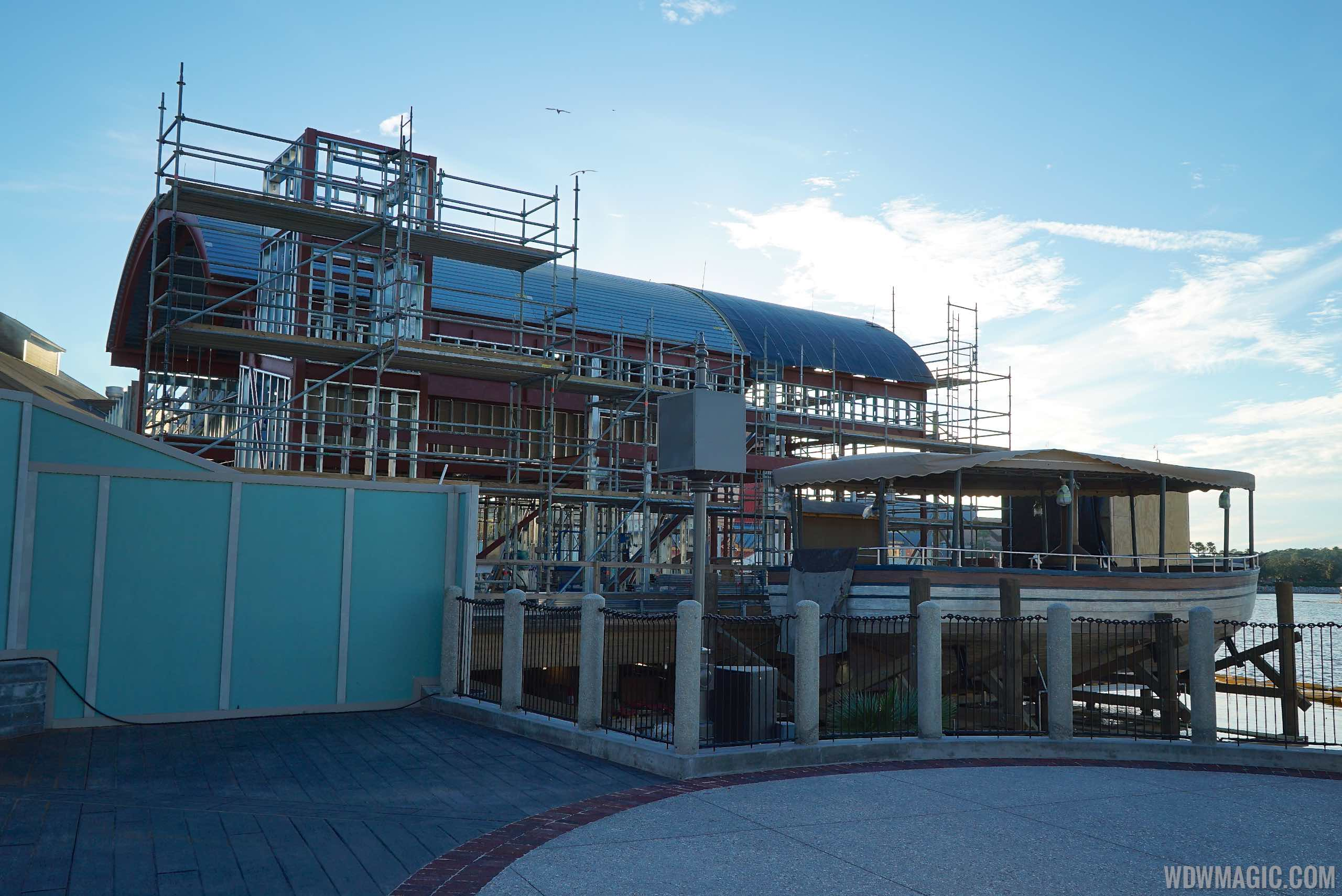 The Hangar construction