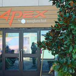 Apex by Sunglass Hut signage