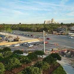 Pedestrian Bridge at Team Disney