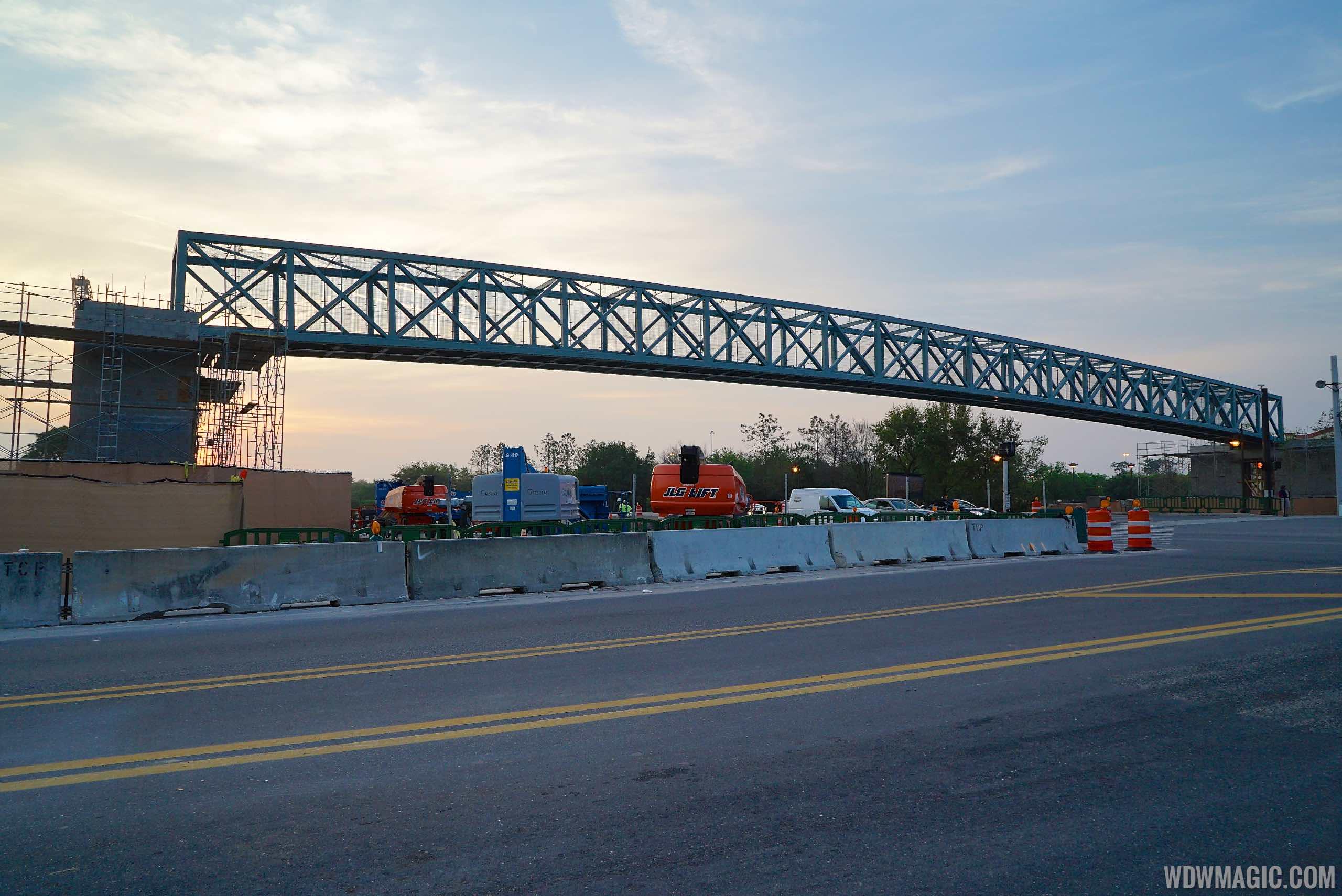 Buena Vista Drive pedestrian bridge