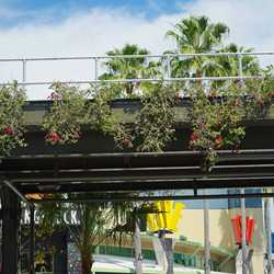 Third Highline elevated structure construction