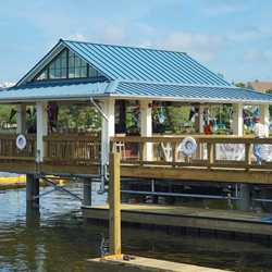The BOATHOUSE construction and Amphicars