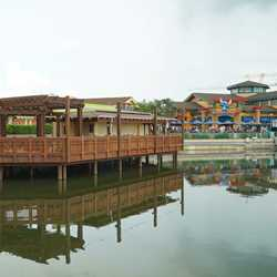 Dockside Margaritas construction