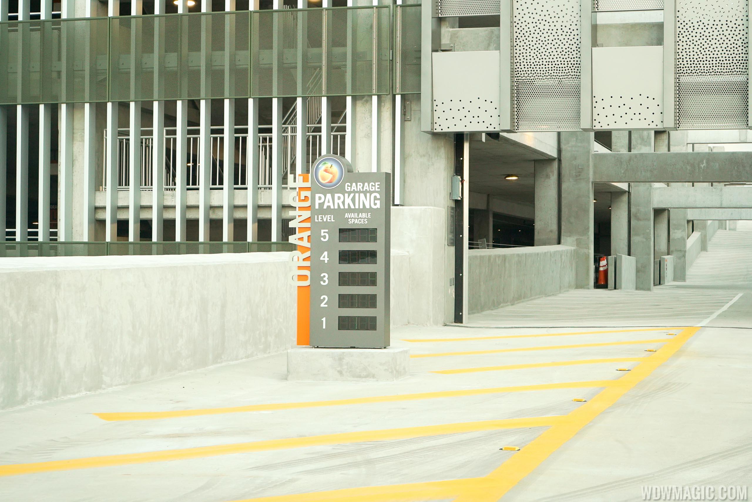 Flyover ramp from Buena Vista Drive to Orange Garage