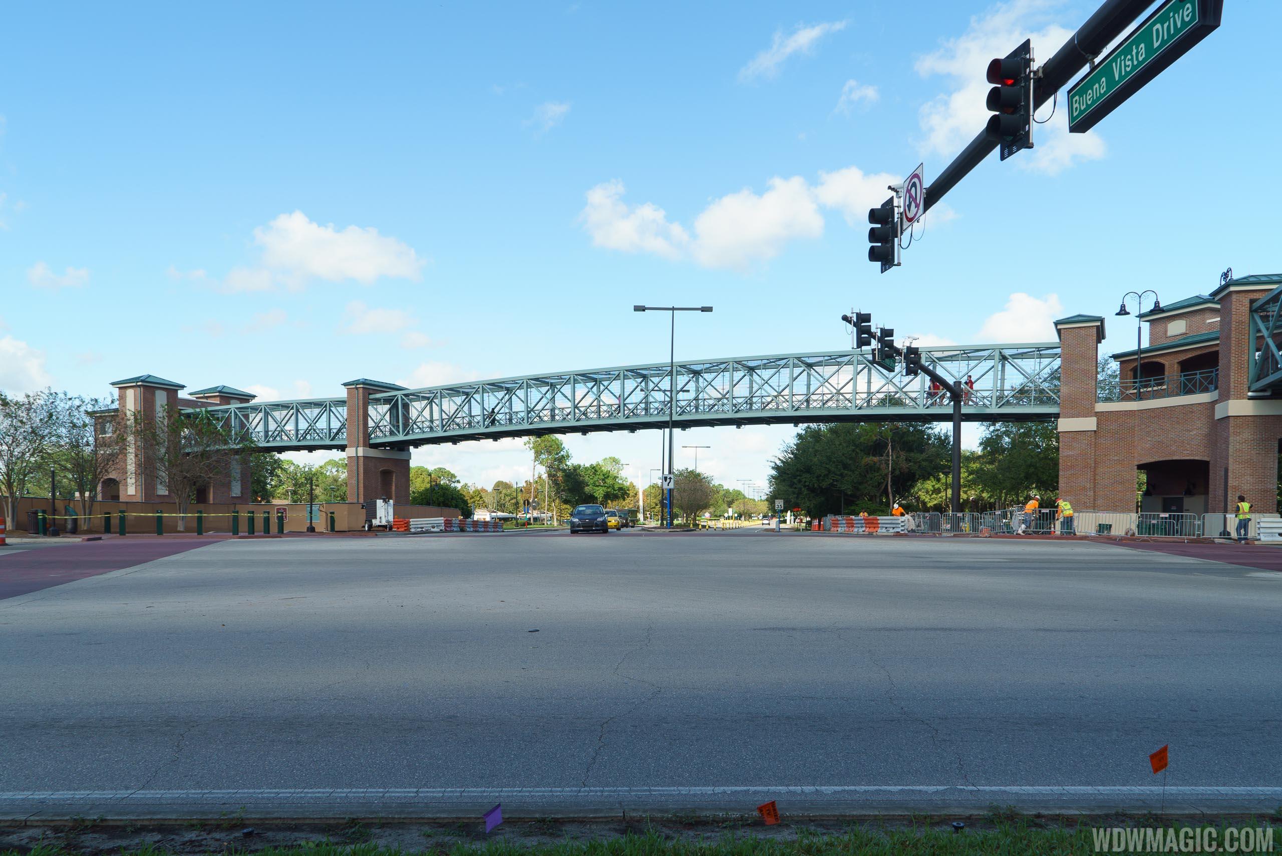 Second Disney Springs Buena Vista Drive pedestrian bridge completed