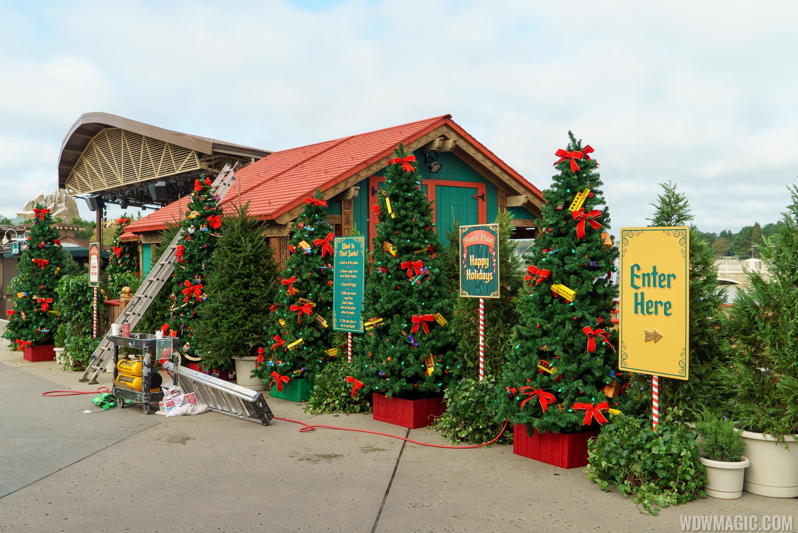 Santa's Chalet at Disney Springs