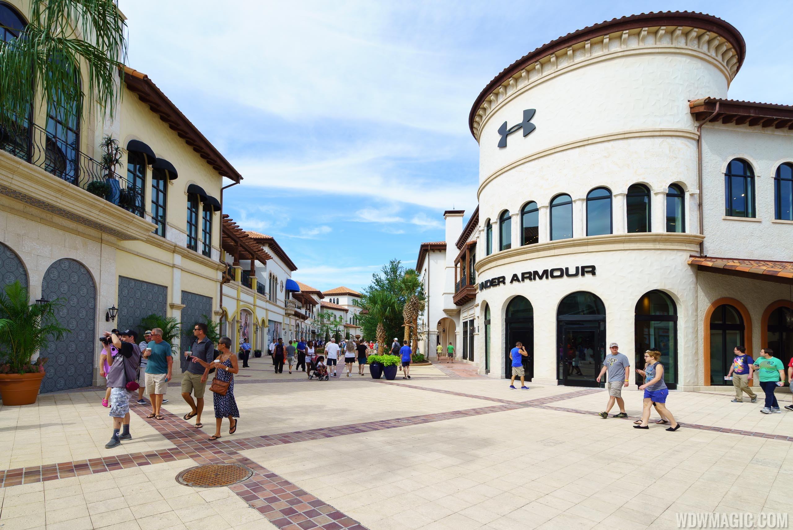 The Town Center at Disney Springs