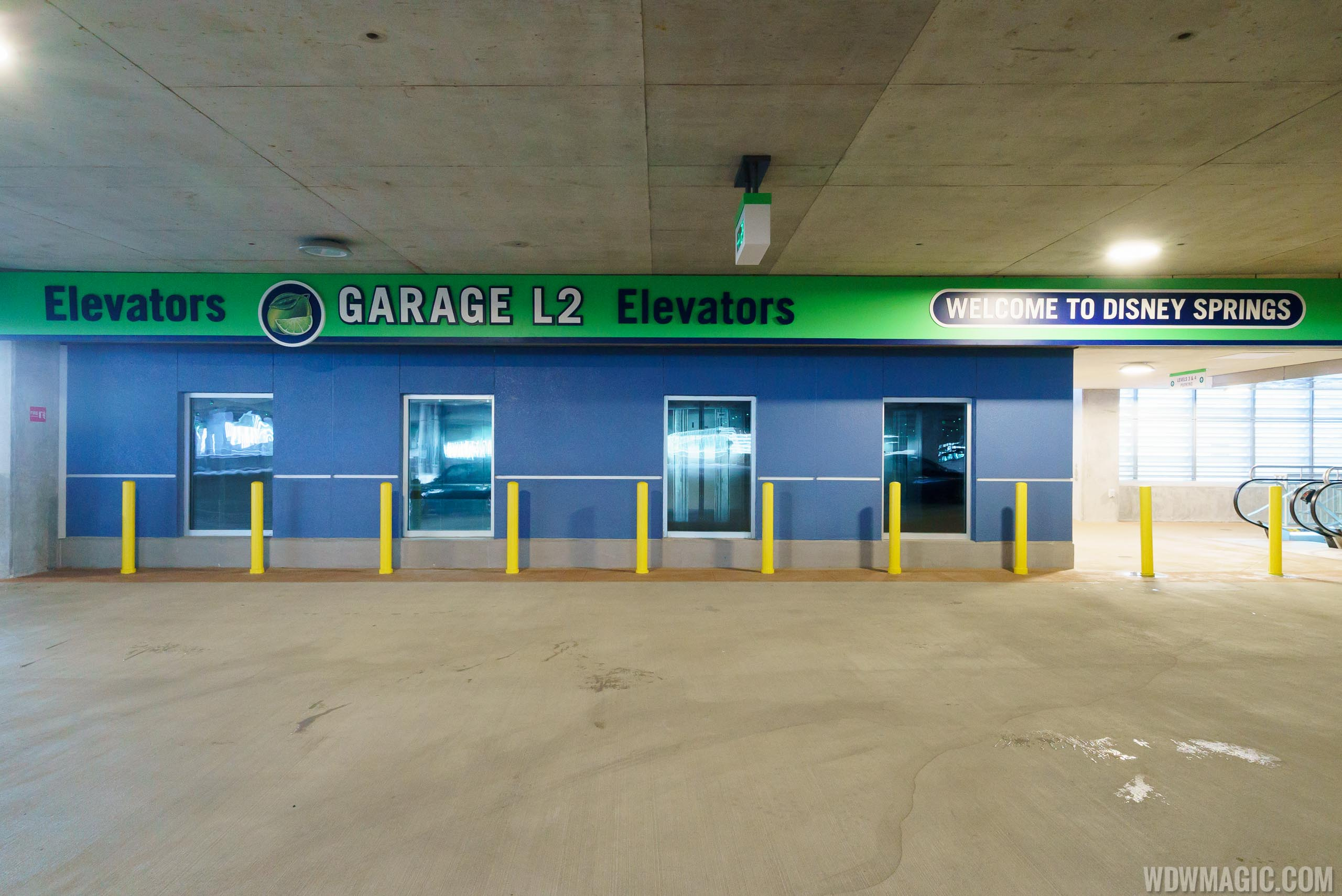 Lime Garage elevators