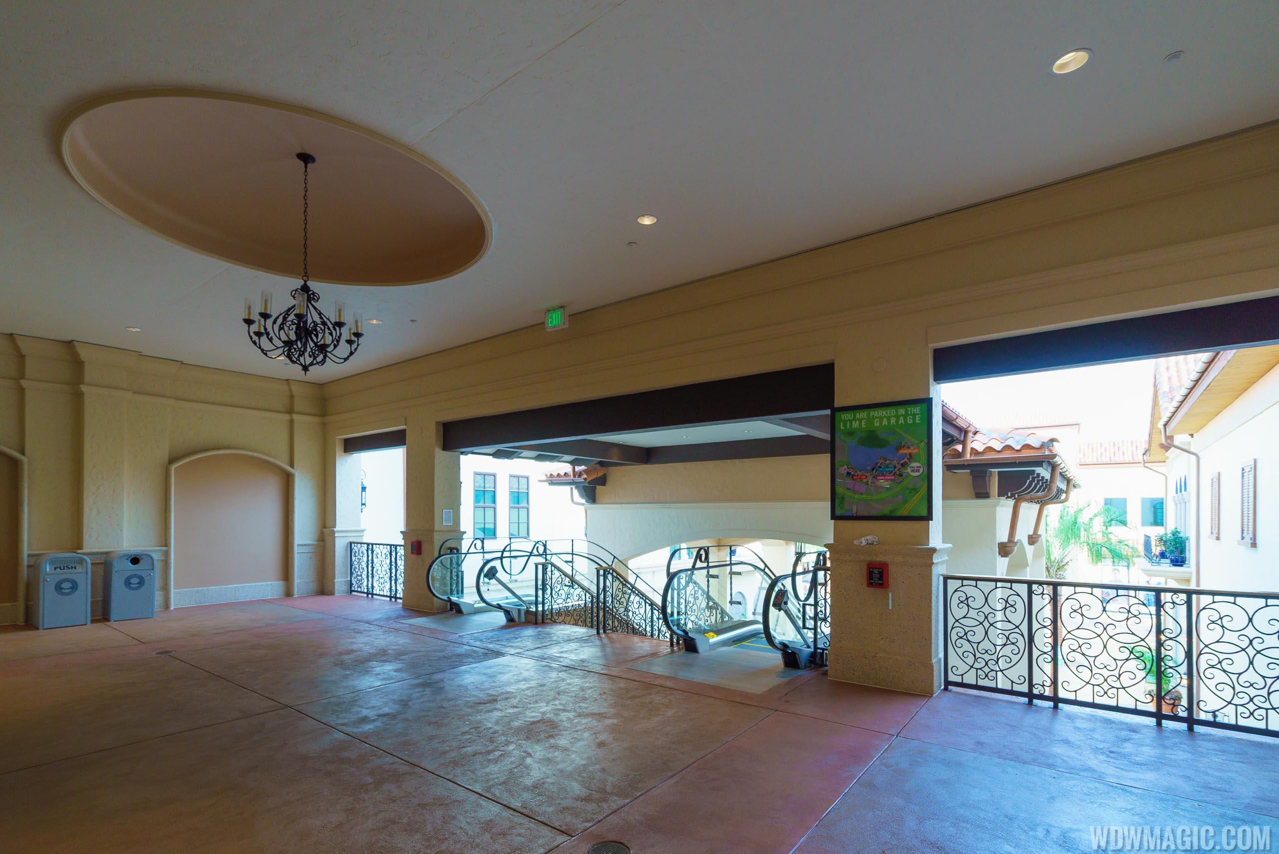 Disney Springs Lime Garage