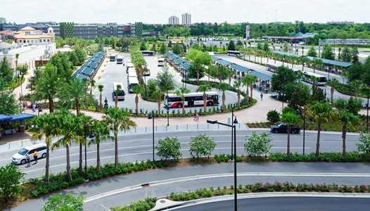 PHOTOS - Disney Springs opens its new bus loop