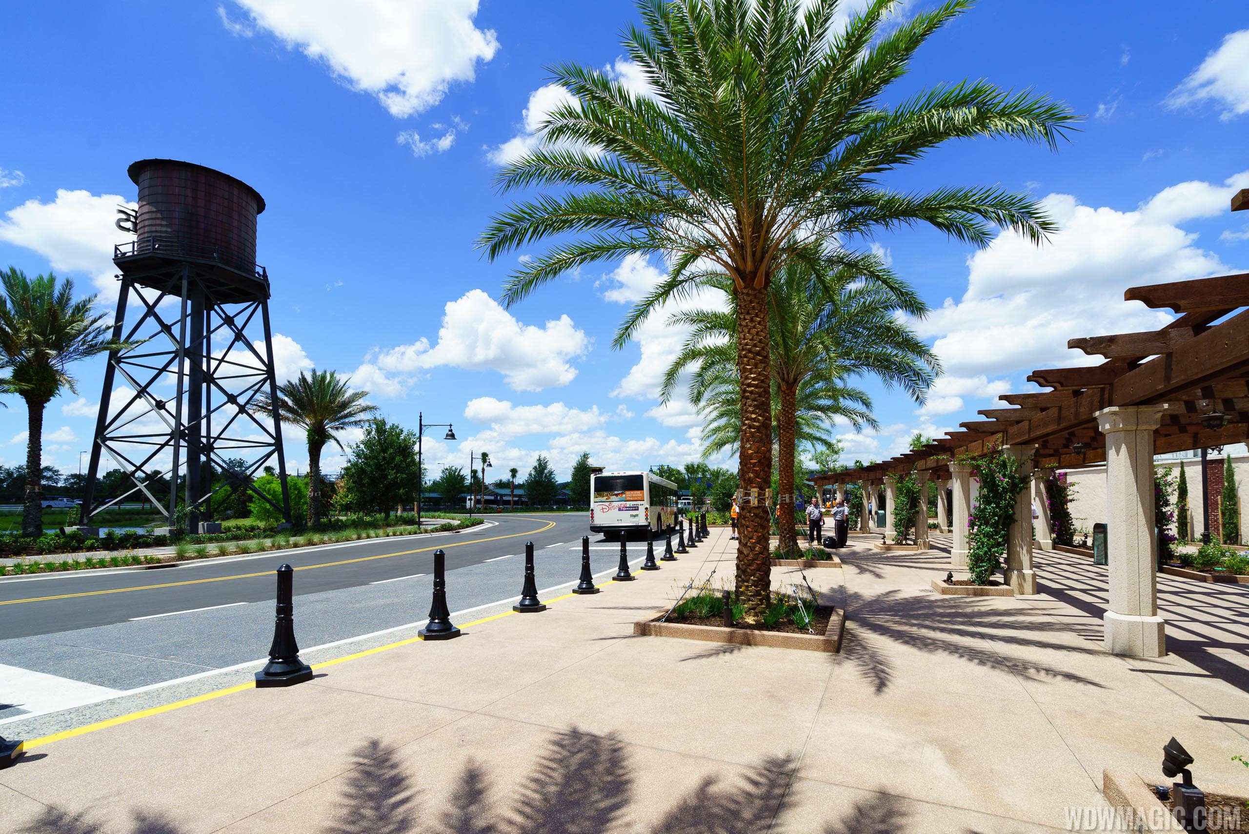 Disney Springs bus drop off