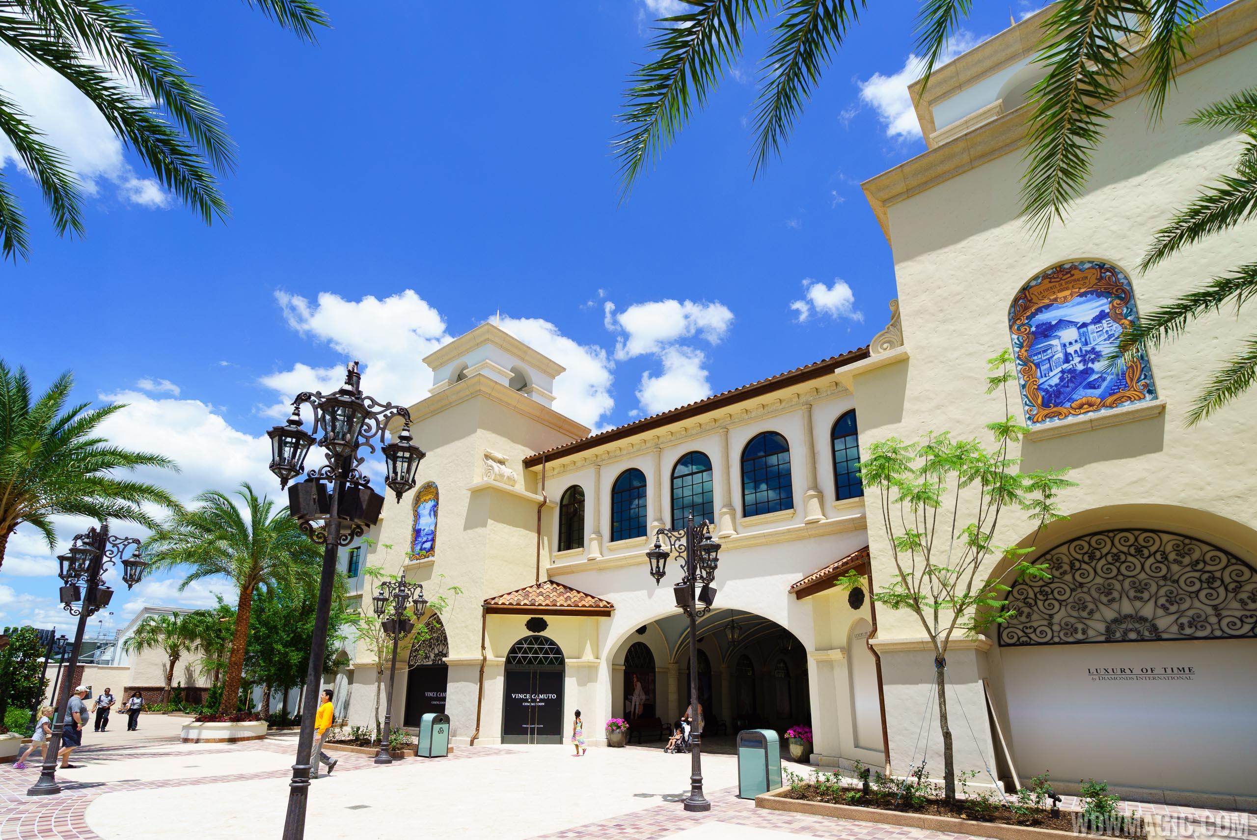 Disney Springs entrance