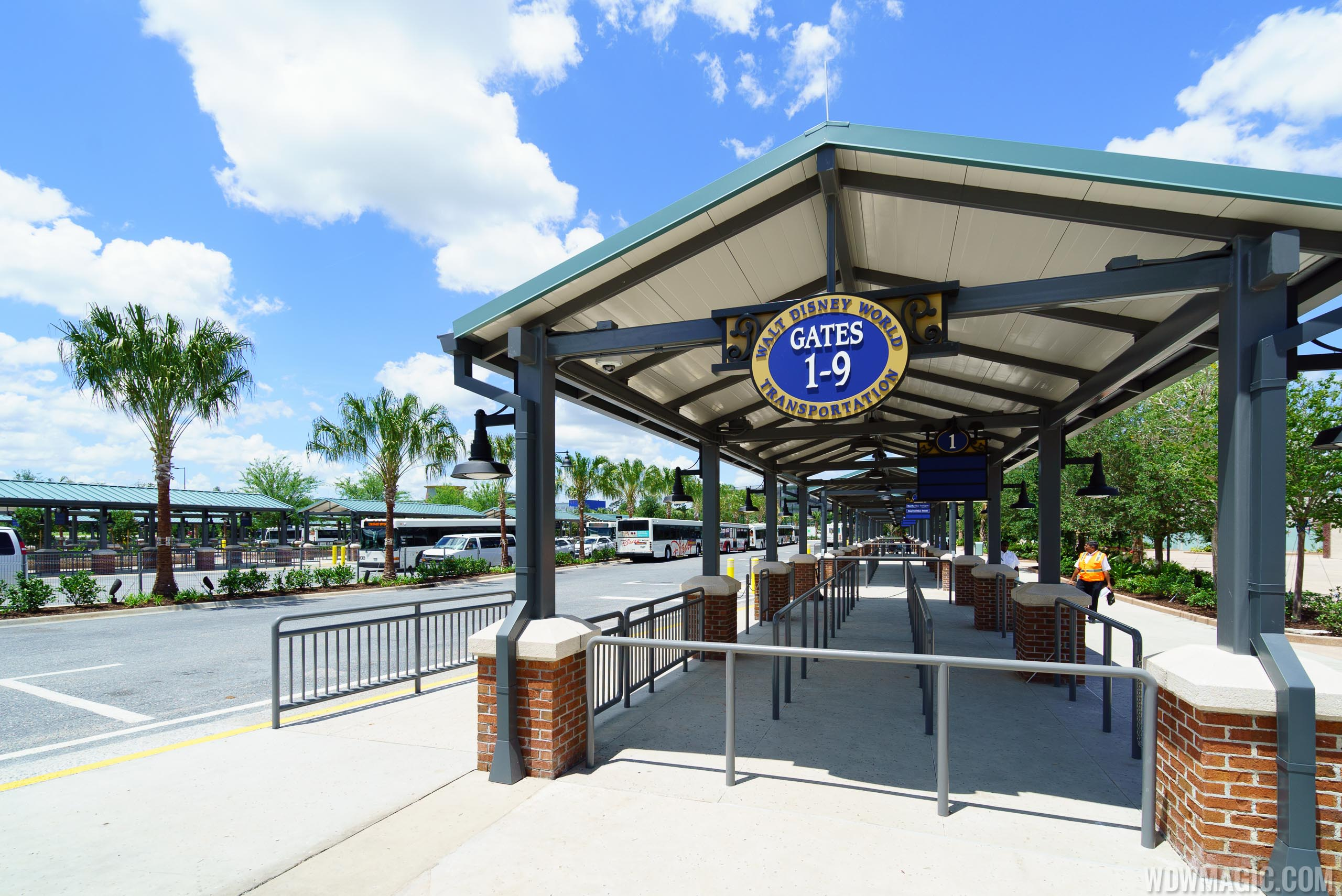 Disney Springs bus stop