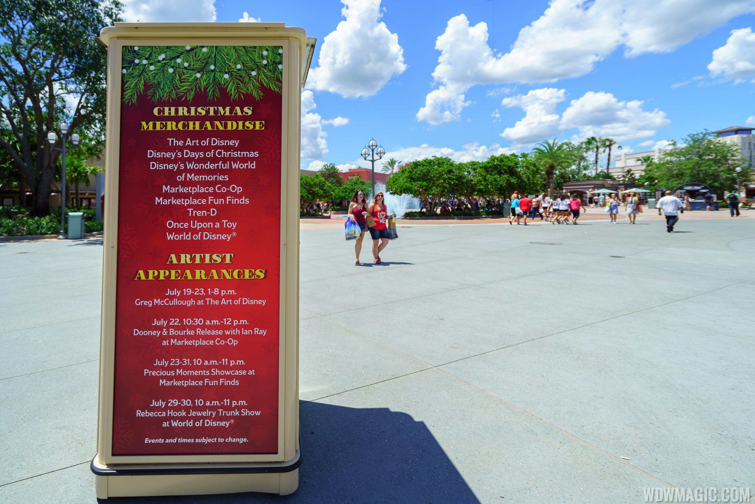 Christmas In July Disney World.Photos Christmas In July At Disney Springs