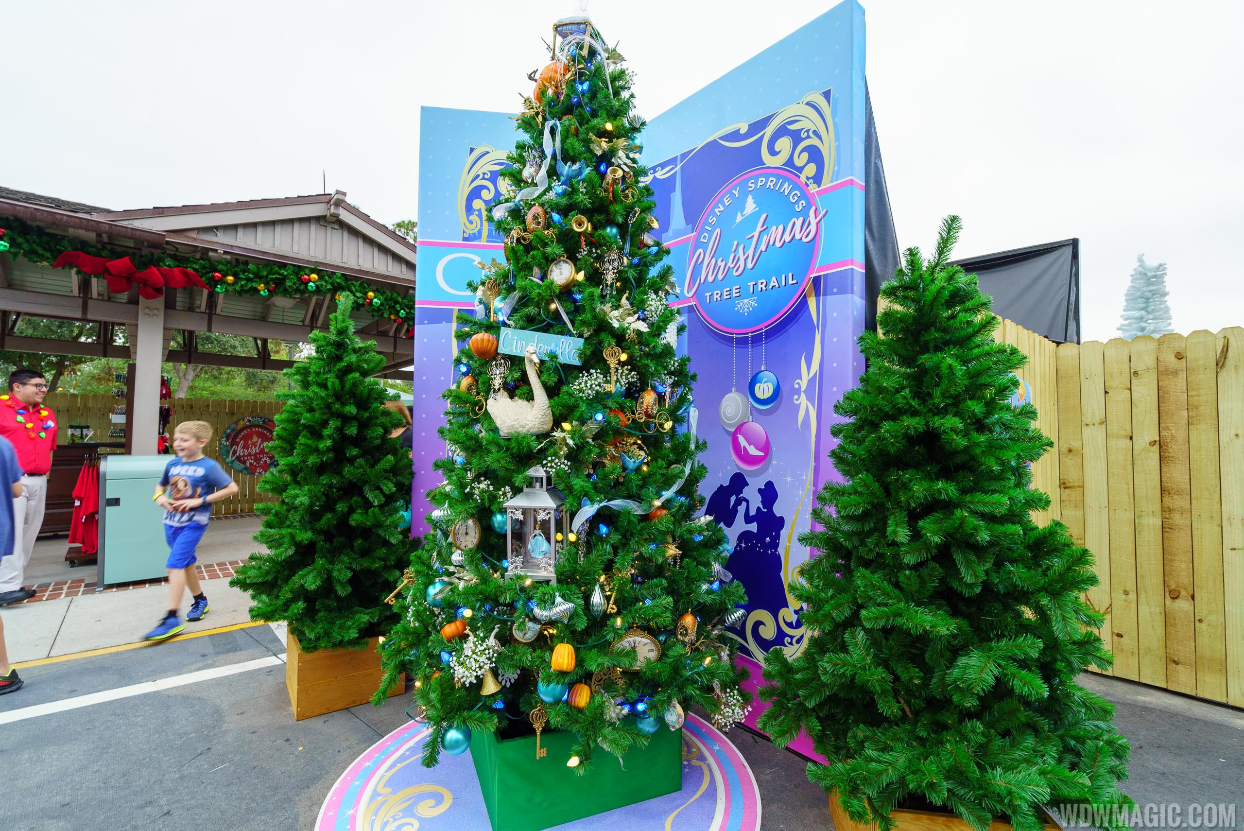 Disney Springs Christmas Tree Trail 2017