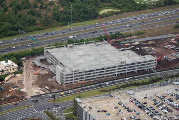 Disney Springs third parking lot construction - May 2018