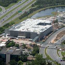 Disney Springs third parking lot construction - August 2018