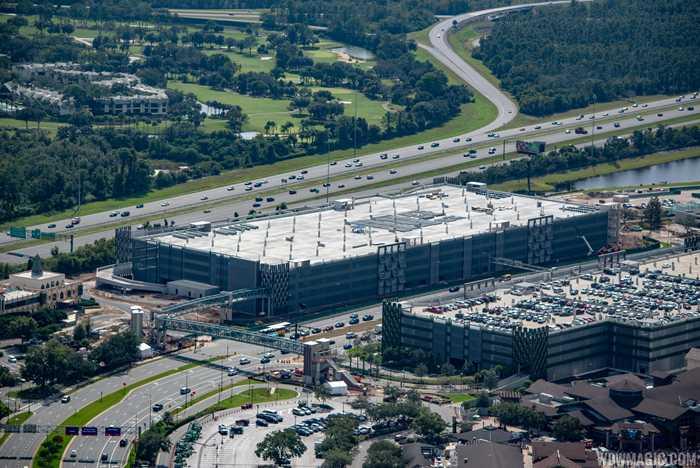 Disney Springs third parking lot construction - November 2018