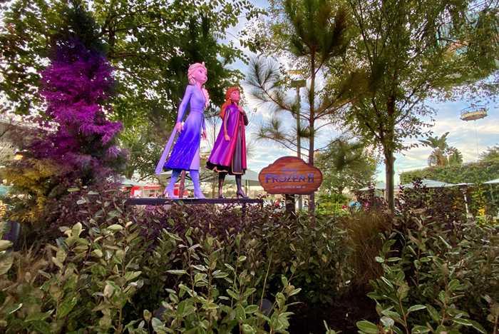 Frozen 2 figures at Disney Springs