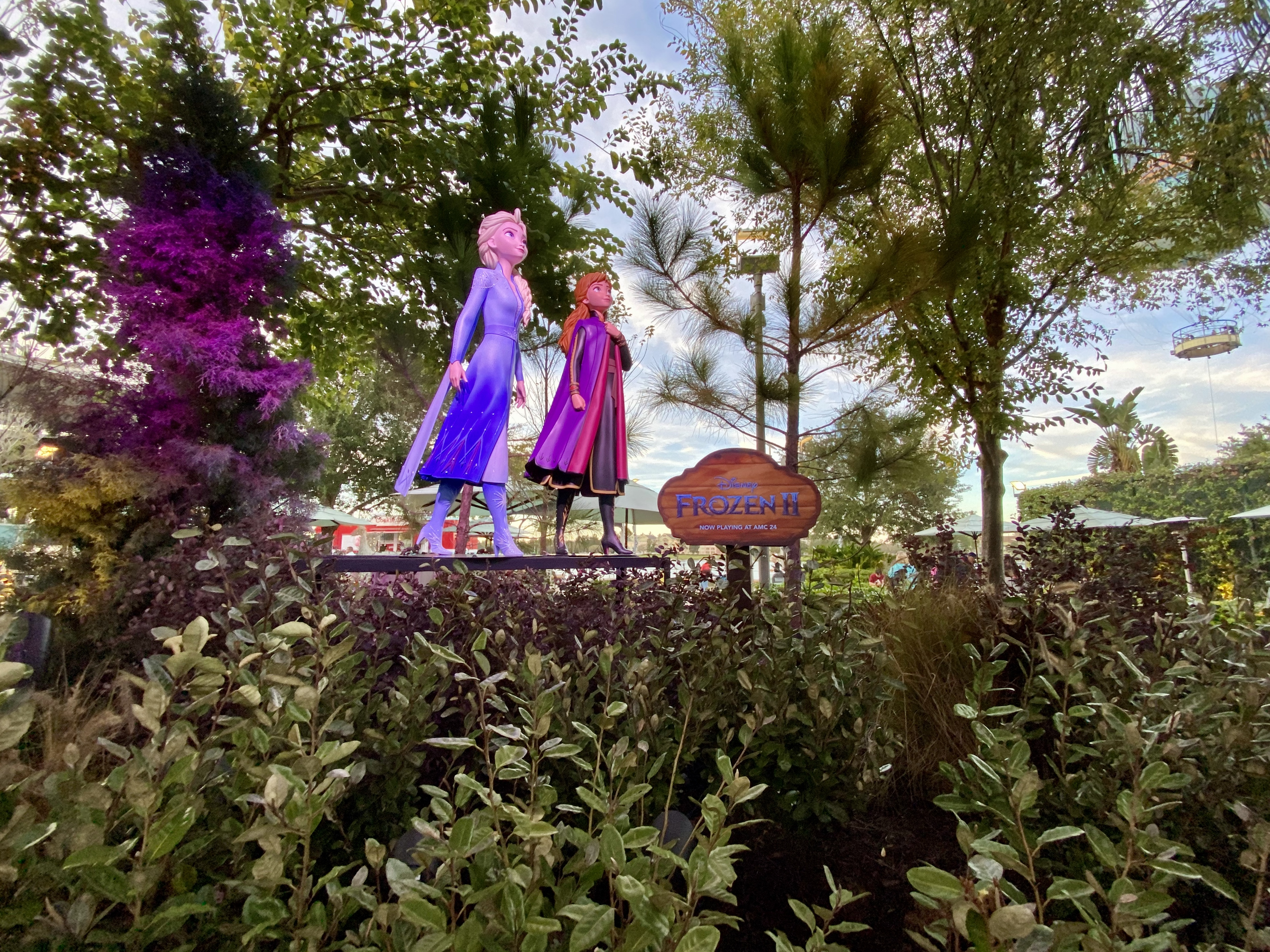 Frozen 2 figures at Disney Springs