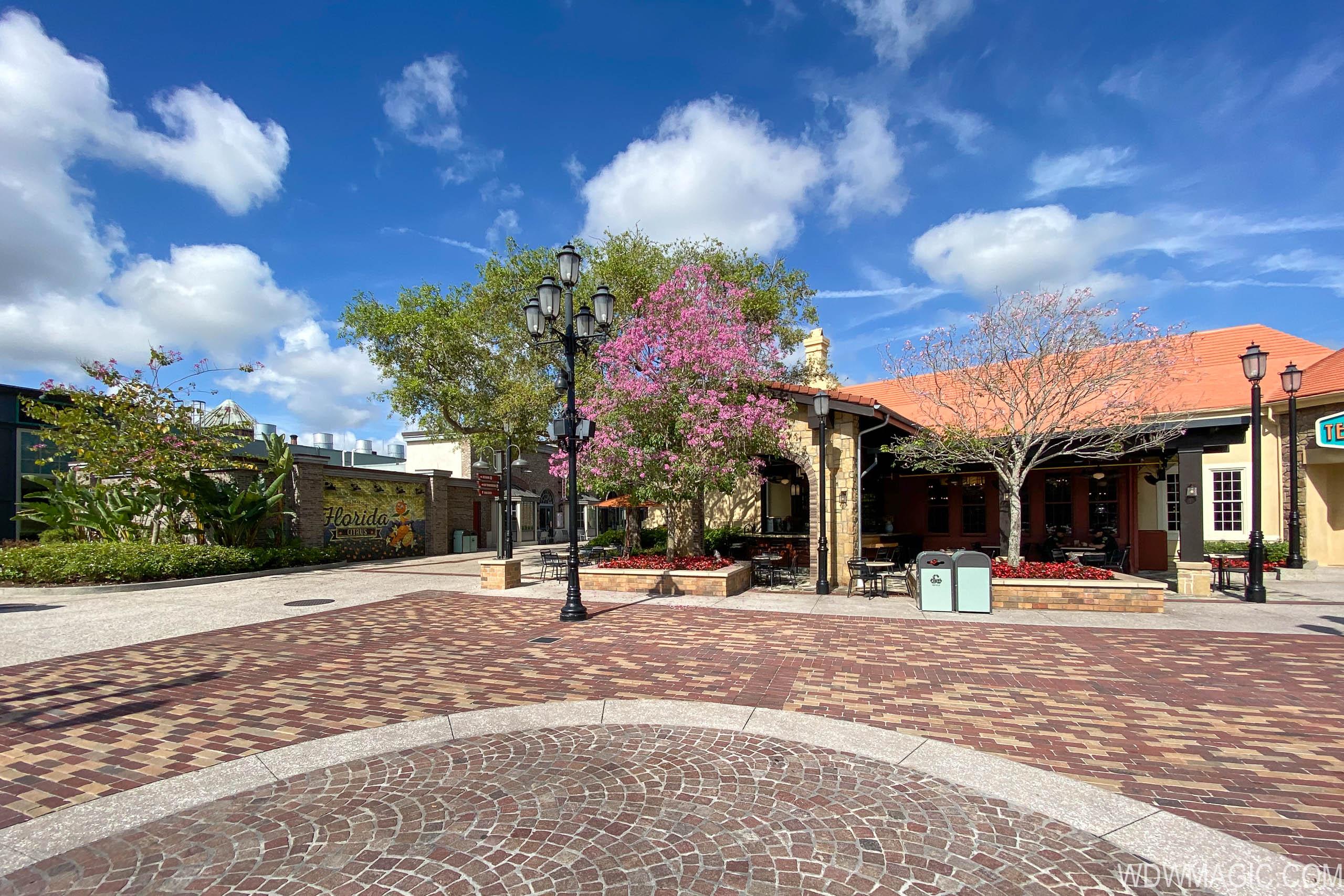 Disney Springs during coronavirus closure March 17 2020