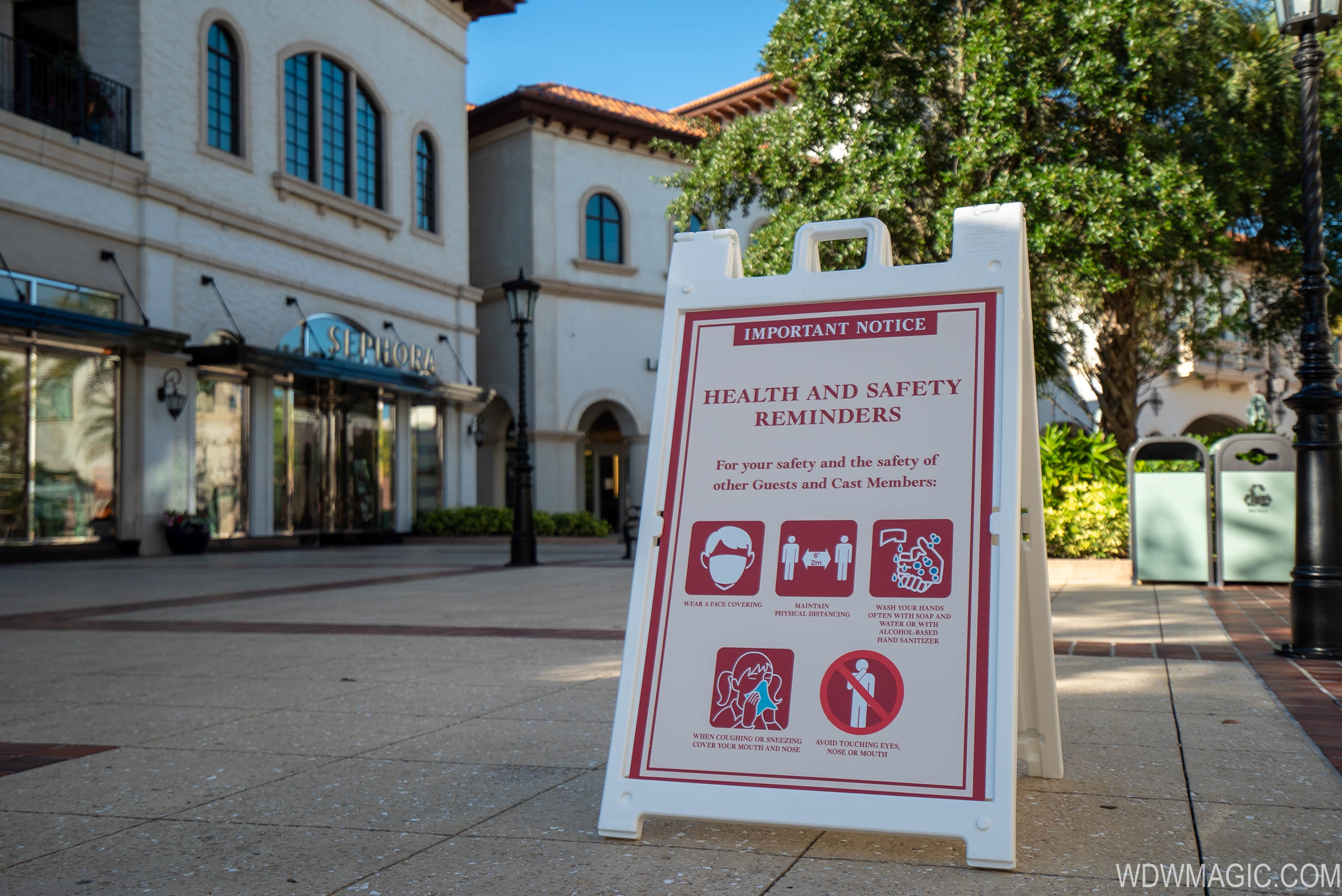 First day of Disney Springs reopening from COVID-19 shutdown