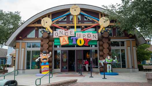 PHOTOS - Once Upon a Toy reopens and a quick look around Disney Springs