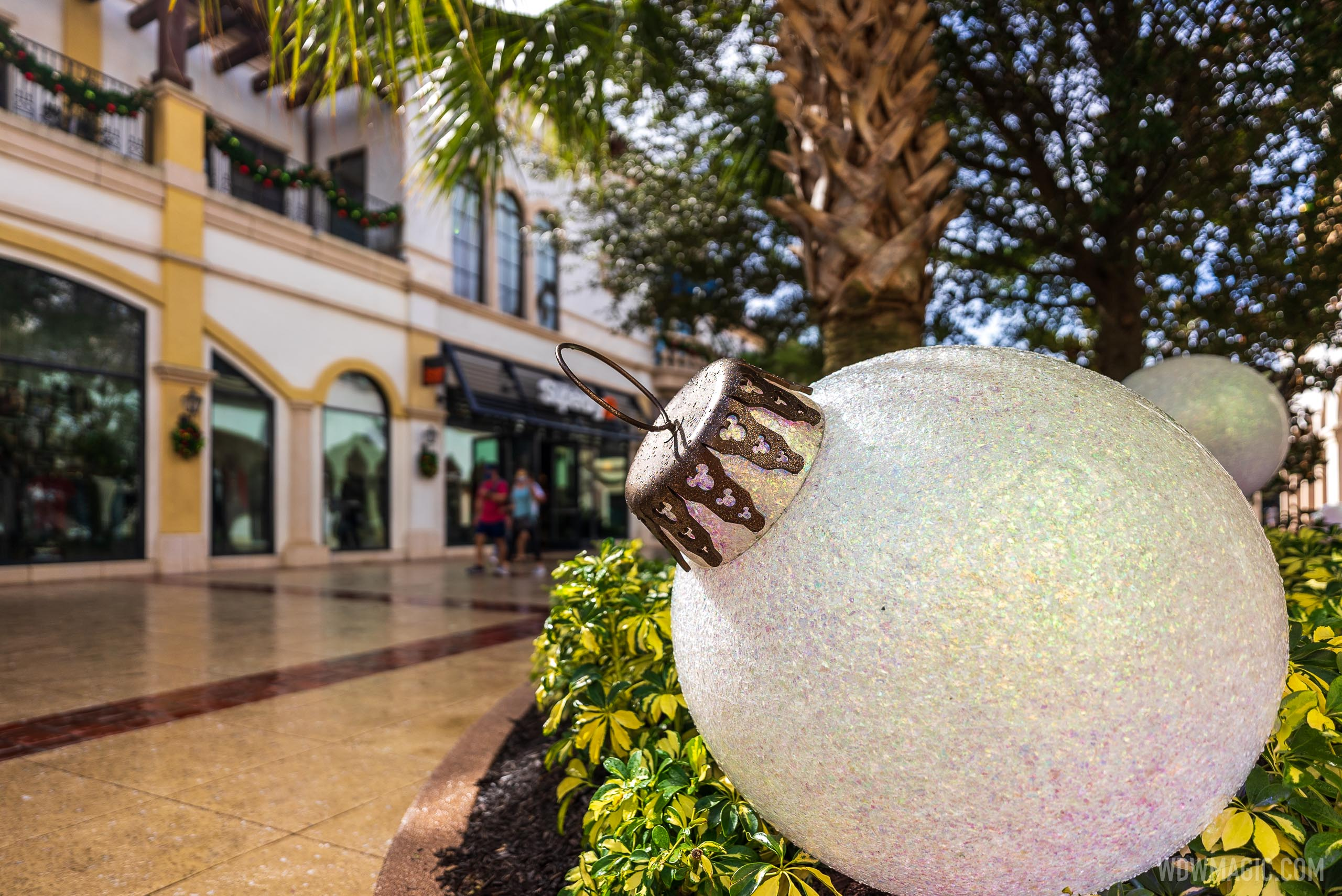 Disney Springs Christmas holiday decor 2020