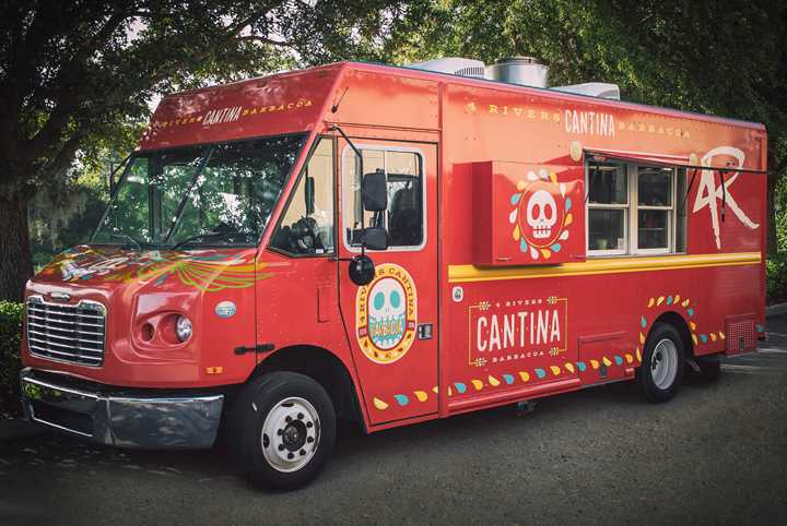 4R Cantina Barbacoa Food Truck opens today at Disney Springs