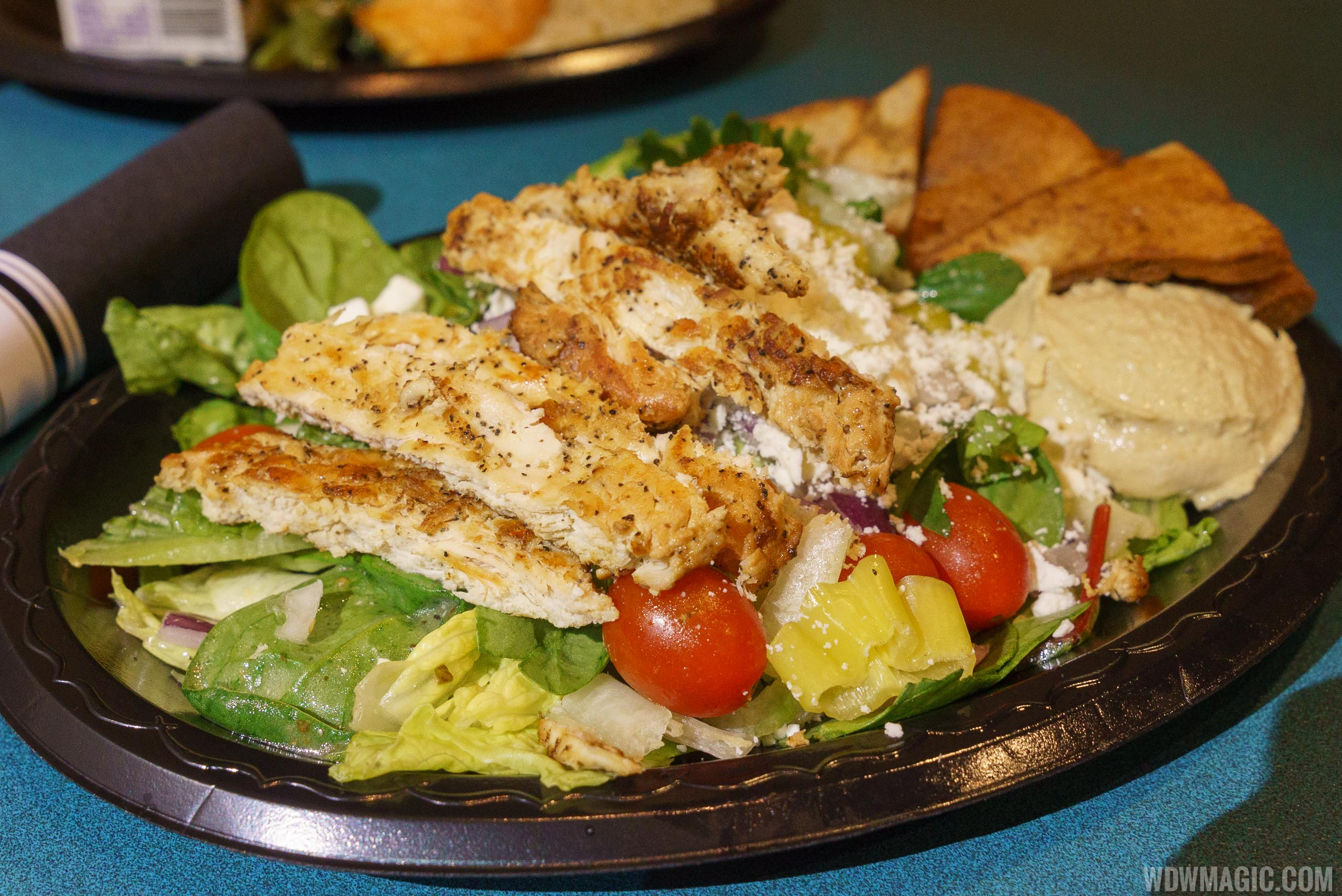 ABC Commissary Dinner - Mediterranean Salad with Chicken