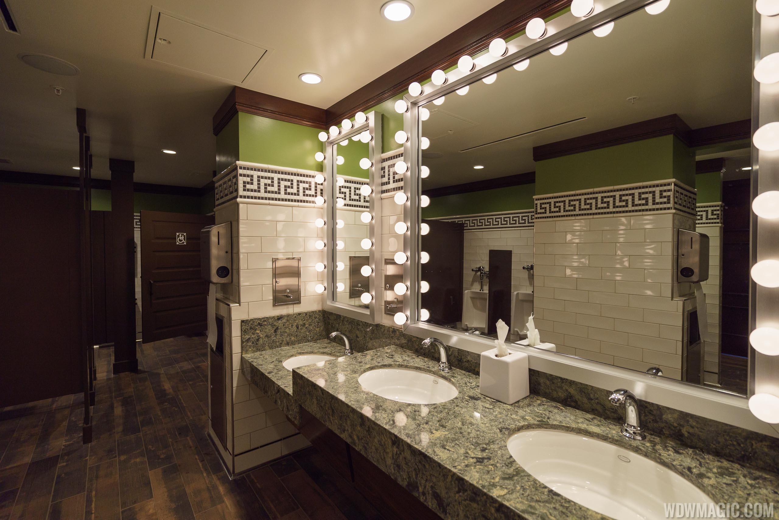 AbracadaBAR restroom mirror