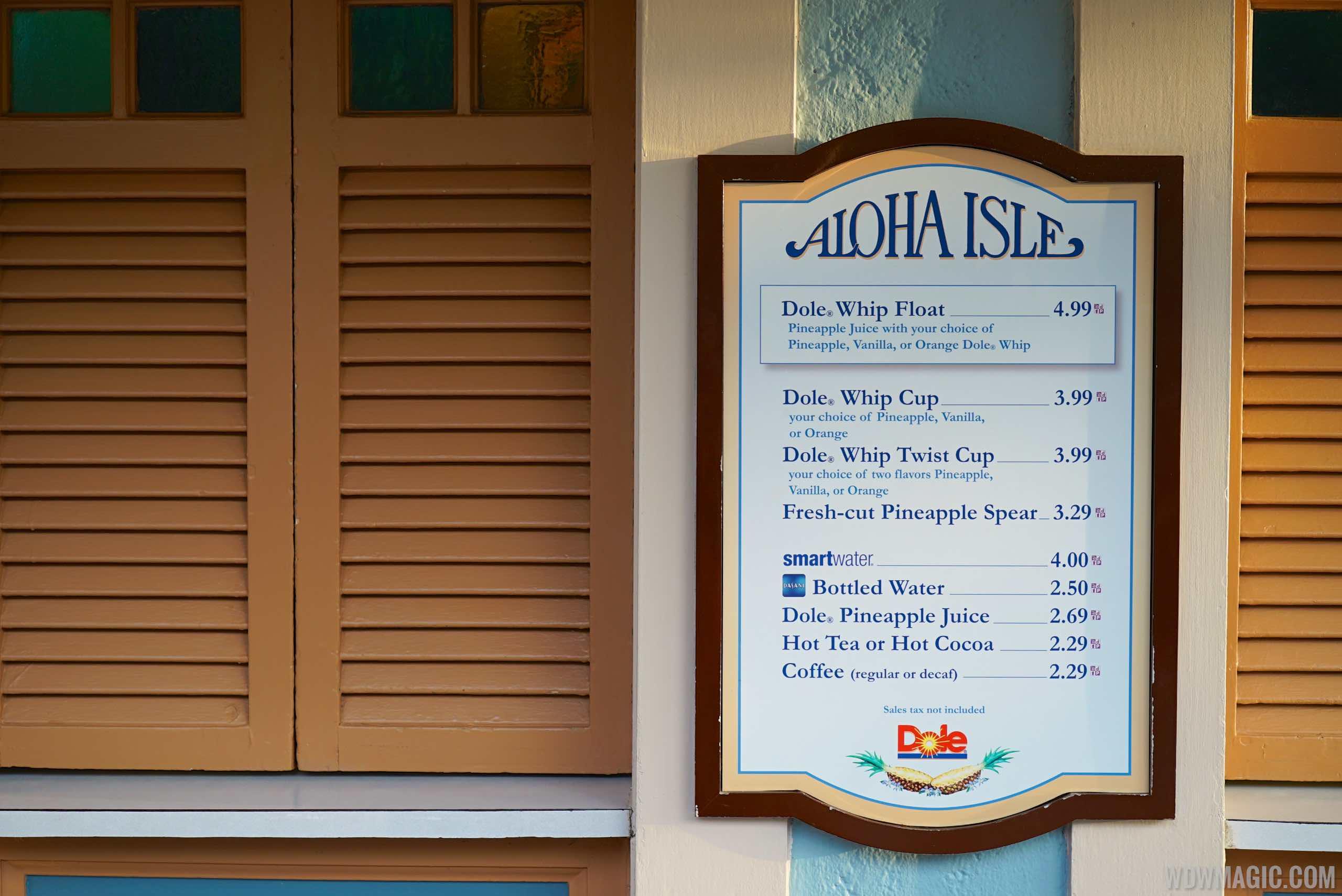 Aloha Isle overview
