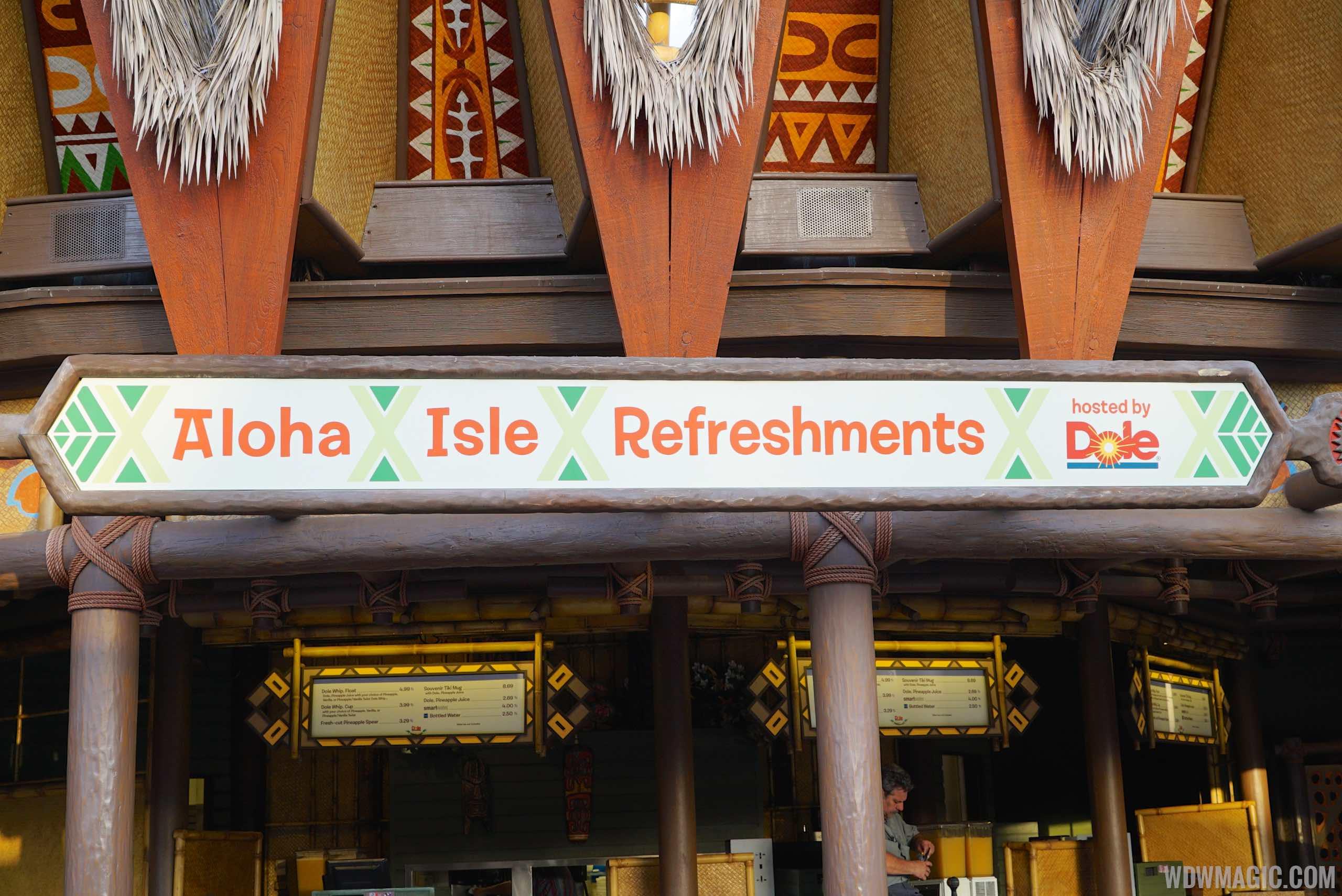New location for Aloha Isle