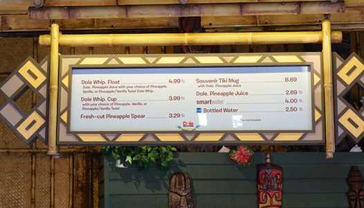 PHOTOS - Aloha Isle moves to new location in the Magic Kingdom's Adventureland