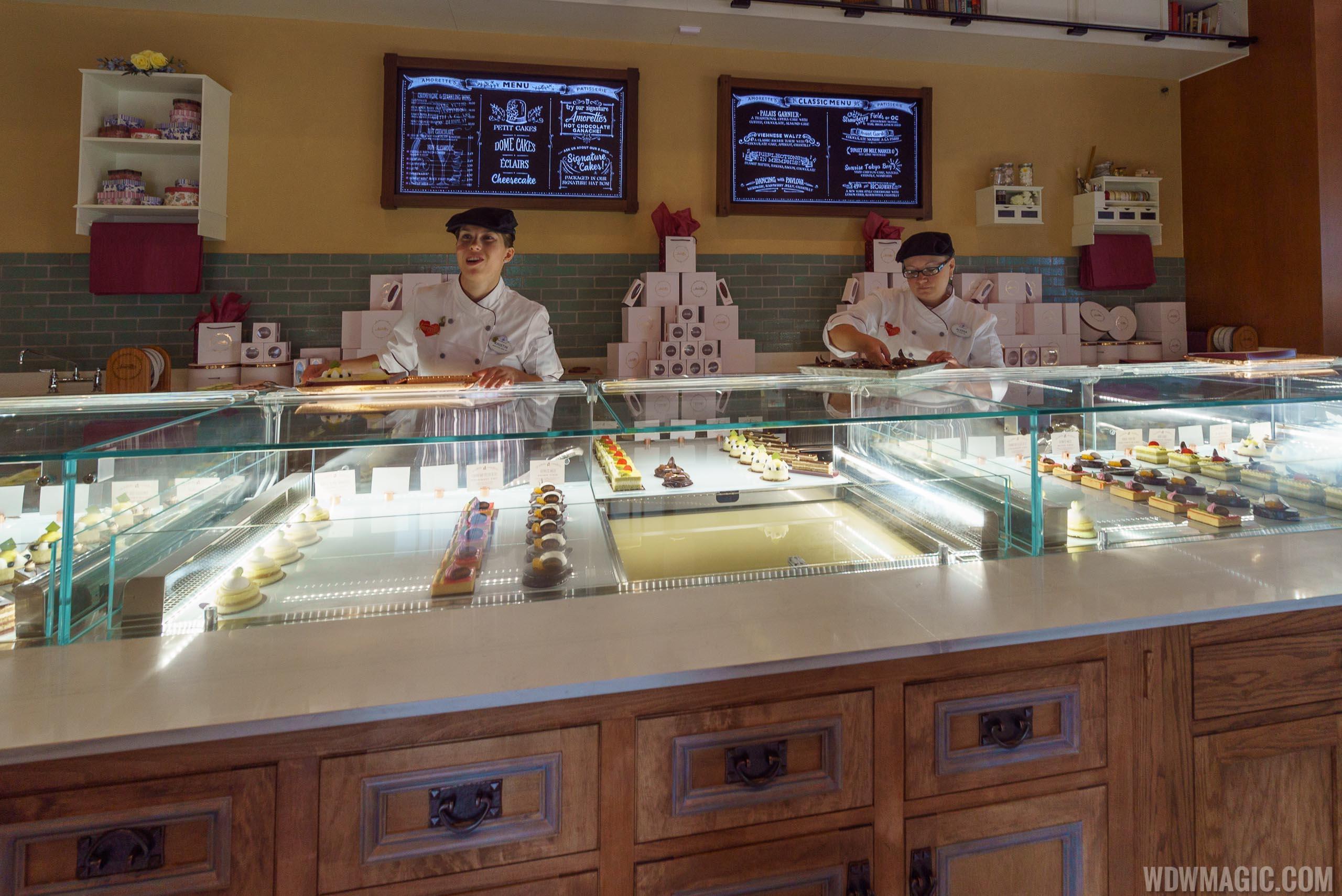 Amorette's Patisserie - Ordering