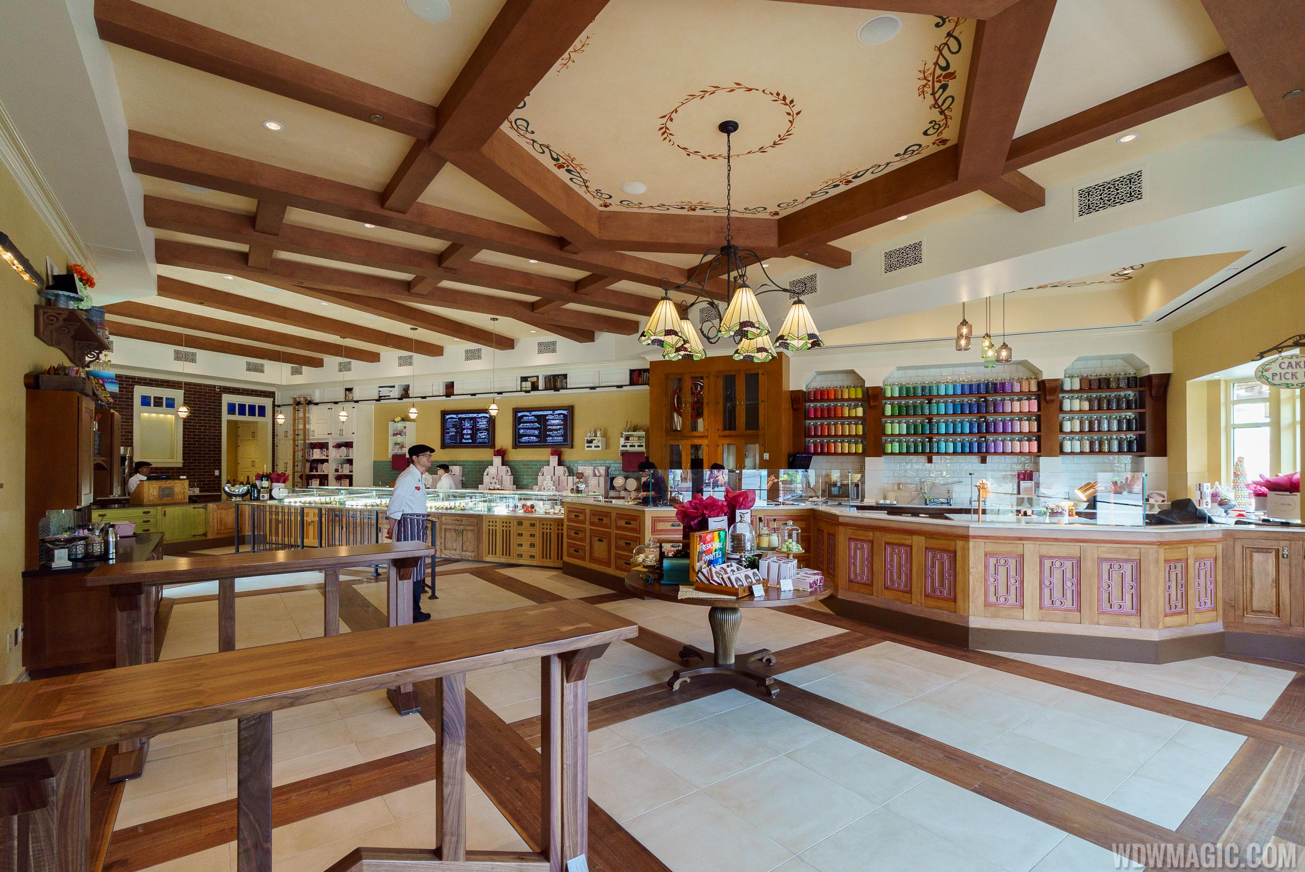 Inside Amorette's Patisserie at Disney Springs