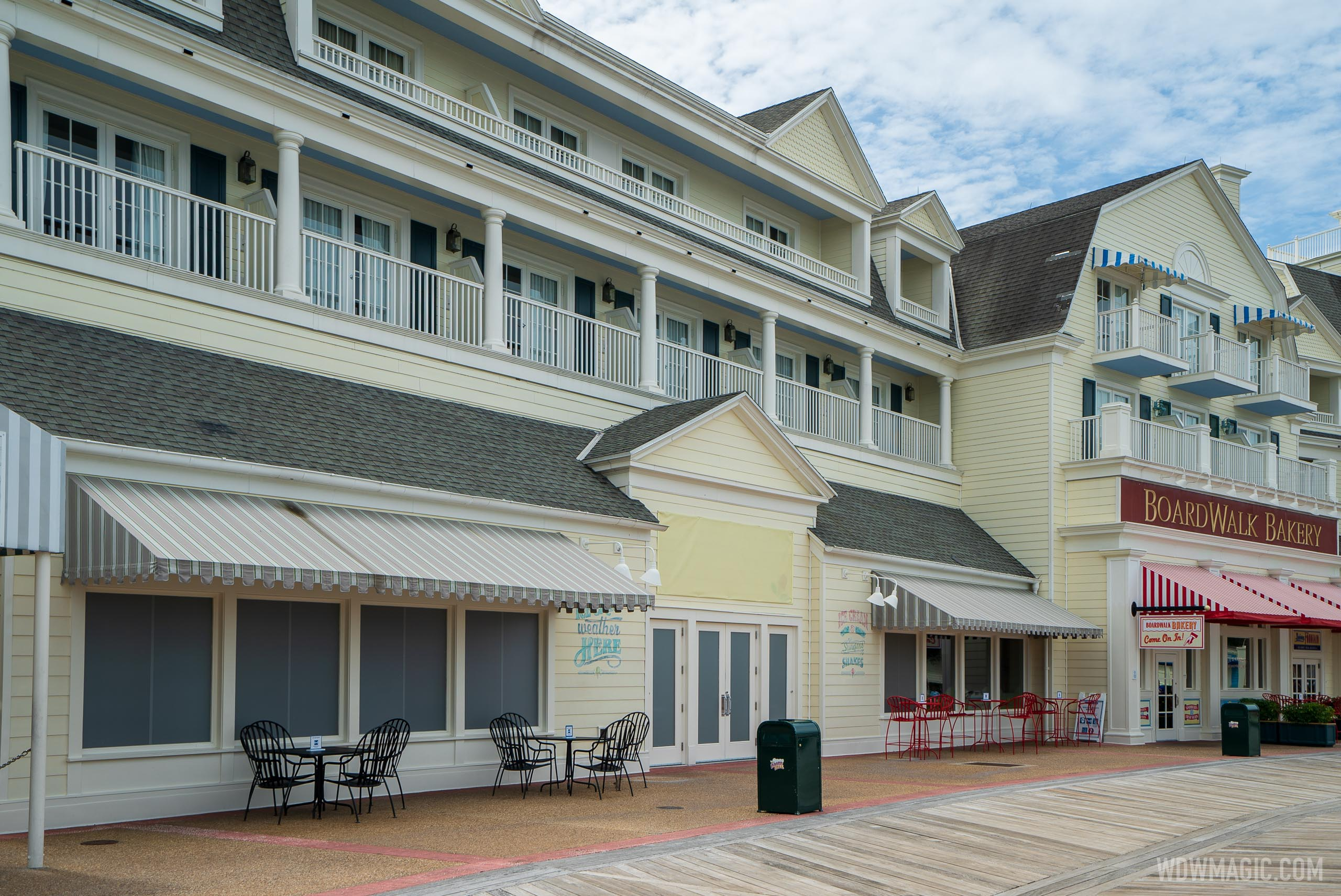 Ample Hills Creamery closed at Disney's Boardwalk
