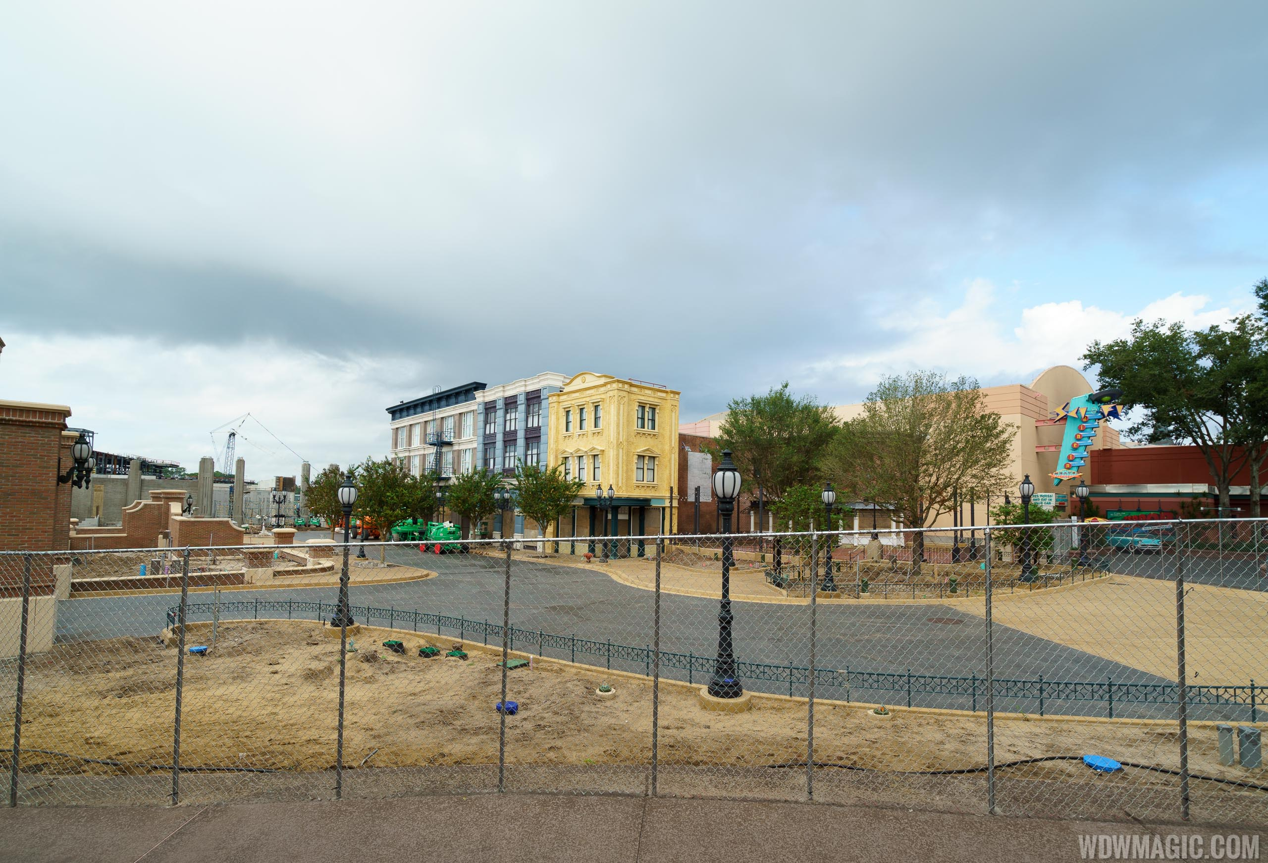 Grand Avenue and Baseline Tap House construction