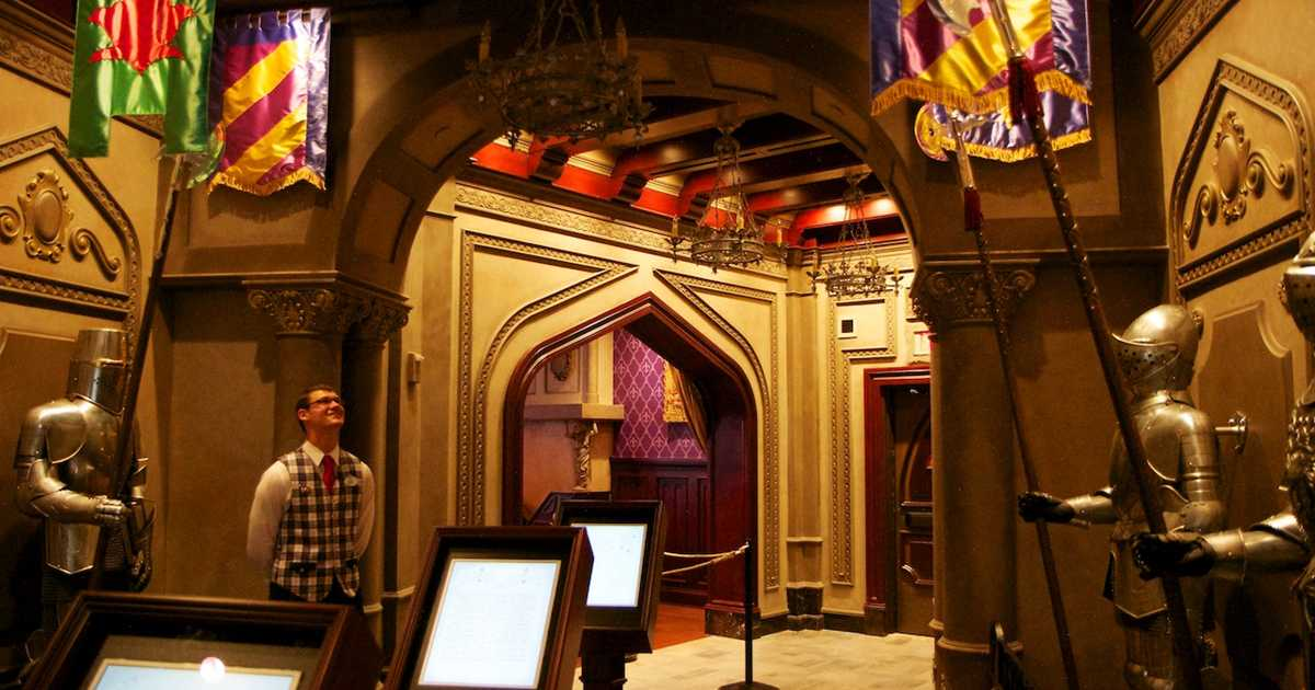 be our guest dining rooms | Inside Be Our Guest Restaurant dining rooms - Photo 1 of 19