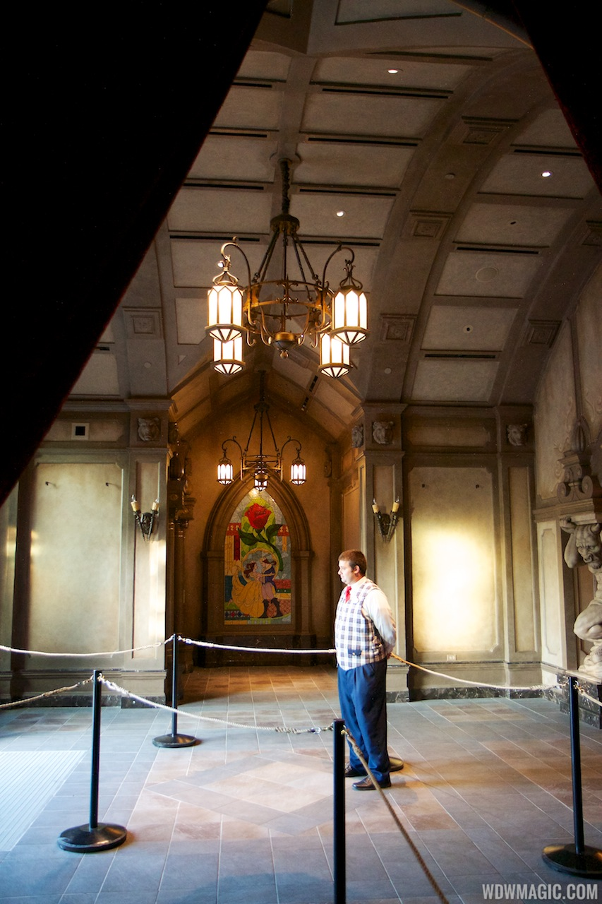 be our guest dining rooms | Inside Be Our Guest Restaurant dining rooms - Photo 2 of 19