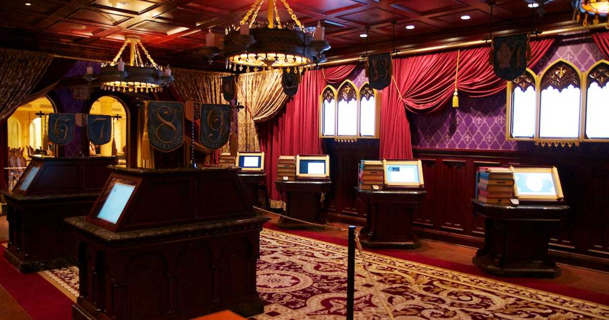 be our guest dining rooms | Inside Be Our Guest Restaurant dining rooms - Photo 3 of 19