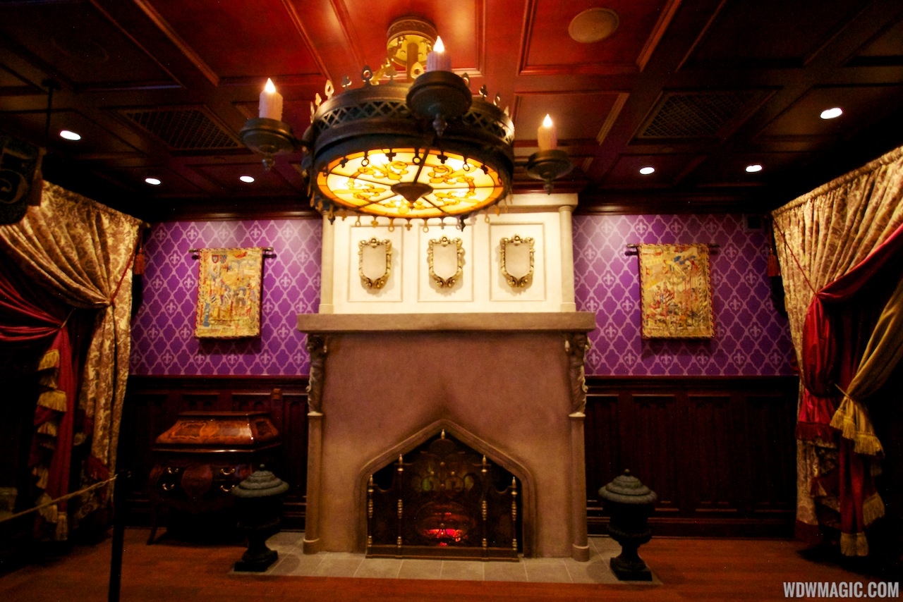 be our guest dining rooms | Inside Be Our Guest Restaurant dining rooms - Photo 7 of 19