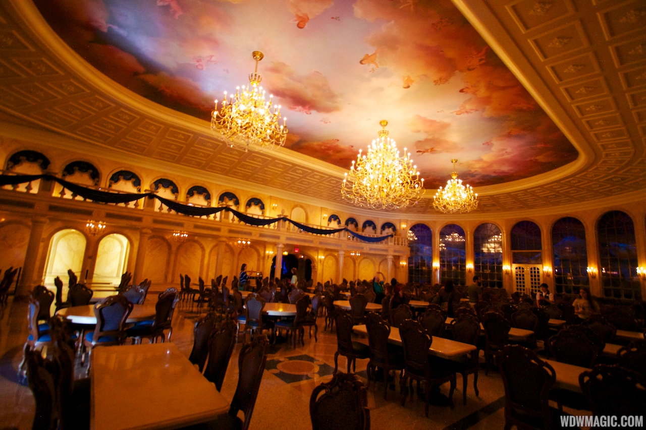 Be Our Guest Restaurant - The Ballroom dining room